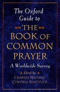 Cover for The Oxford Guide to the Book of Common Prayer