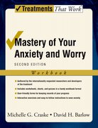 Cover for Mastery of Your Anxiety and Worry: Workbook