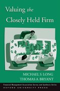 Cover for Valuing the Closely Held Firm