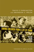 Cover for Saving Children from a Life of Crime