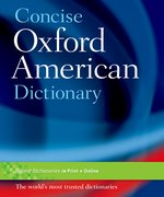 Cover for Concise Oxford American Dictionary