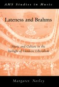 Cover for Lateness and Brahms