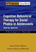 Cover for Cognitive-Behavioral Therapy for Social Phobia in Adolescents: Therapist Guide