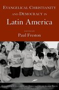 Cover for Evangelical Christianity and Democracy in Latin America
