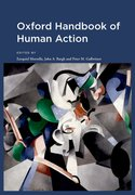 Cover for Oxford Handbook of Human Action