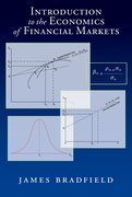 Cover for Introduction to the Economics of Financial Markets