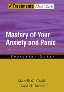 Cover for Mastery of Your Anxiety and Panic: Therapist Guide