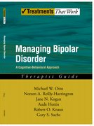 Cover for Managing Bipolar Disorder: Therapist Guide