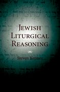 Cover for Jewish Liturgical Reasoning