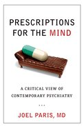 Cover for Prescriptions for the Mind