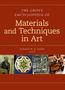 Cover for The Grove Dictionary of Materials and Techniques in Art