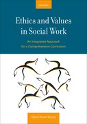 Cover for Ethics and Values in Social Work