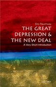 Cover for The Great Depression and New Deal: A Very Short Introduction
