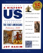 Cover for A History of US: The First Americans: Prehistory-1600
