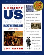 Cover for A History of US: Making Thirteen Colonies: 1600-1740