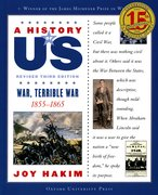 Cover for A History of US: War, Terrible War: 1855-1865