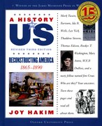Cover for A History of US: Reconstructing America: 1865-1890