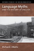 Cover for Language Myths and the History of English
