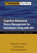 Cover for Cognitive-Behavioral Stress Management for Individuals Living with HIV