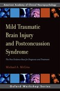 Cover for Mild Traumatic Brain Injury and Postconcussion Syndrome