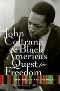 Cover for John Coltrane and Black America