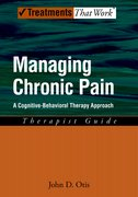 Cover for Managing Chronic Pain: Therapist Guide