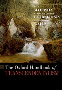 Cover for The Oxford Handbook of Transcendentalism