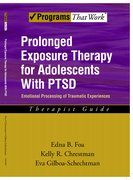 Cover for Prolonged Exposure Therapy for Adolescents with PTSD Therapist Guide