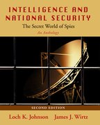 Cover for Intelligence and National Security