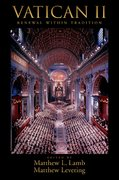 Cover for Vatican II: Renewal within Tradition