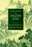 Cover for Teaching the Daode Jing