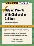 Cover for Helping Parents with Challenging Children: Parent Workbook