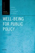 Cover for Well-Being for Public Policy