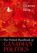Cover for The Oxford Handbook of Canadian Politics