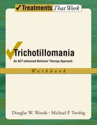 Cover for Trichotillomania: Workbook