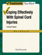 Cover for Coping Effectively With Spinal Cord Injuries: A Group Program: Workbook