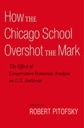 Cover for How the Chicago School Overshot the Mark