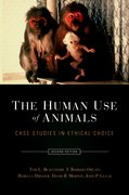 Cover for The Human Use of Animals