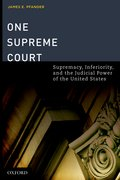 Cover for One Supreme Court