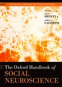 Cover for The Oxford Handbook of Social Neuroscience