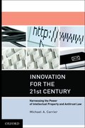Cover for Innovation for the 21st Century