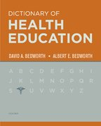 Cover for Dictionary of Health Education