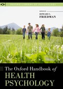 Cover for The Oxford Handbook of Health Psychology