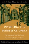 Cover for Inventing the Business of Opera