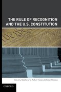 Cover for The Rule of Recognition and the U.S. Constitution