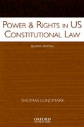 Cover for Power & Rights in US Constitutional Law