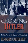 Cover for Crossing Hitler
