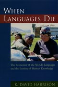 Cover for When Languages Die