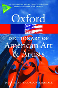 Cover for Oxford Dictionary of American Art and Artists