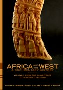 Cover for Africa and the West: A Documentary History